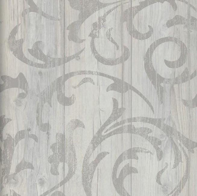 Tapete Rustikal vlies tapete antik holz rustikal rankenmuster barock ornament