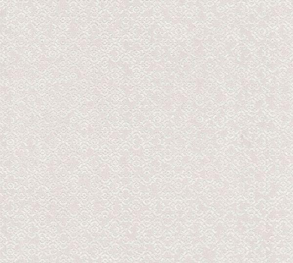 Vliestapete marokkanisches Grafik Muster creme silber metallic