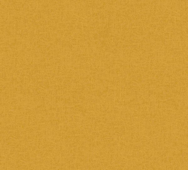 Vliestapete Uni ocker gelb California