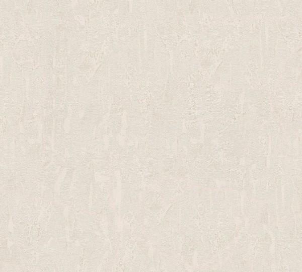 Vliestapete Uni Putz Optik beige grau Chateau 5