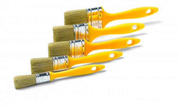 Maler Flachpinselset 5 tgl. 20,30,40,50,60mm