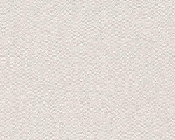 Vliestapete Uni Textil Optik Struktur creme beige Elegance