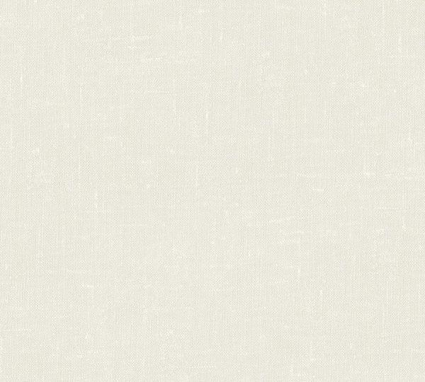 Vliestapete Uni Struktur Textil Optik creme beige