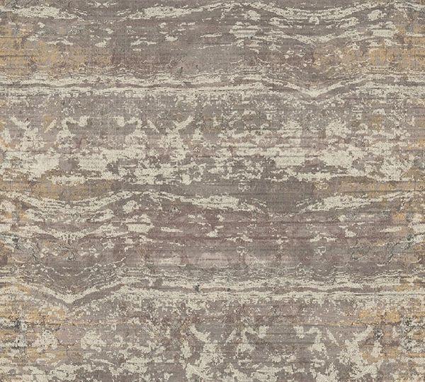 Vliestapete Textil Used Look Balken Optik braun