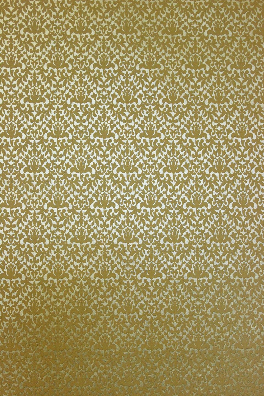 Goldene ornament tapete 13512 20 metallic effekt - Goldene tapete ...