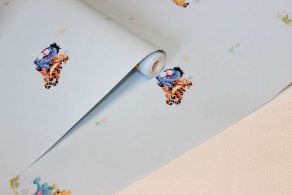 Winnie Pooh Tigger Ferkel Disney Tapete