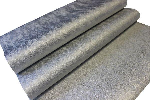 Vliestapete Uni Struktur silber glanz metallic