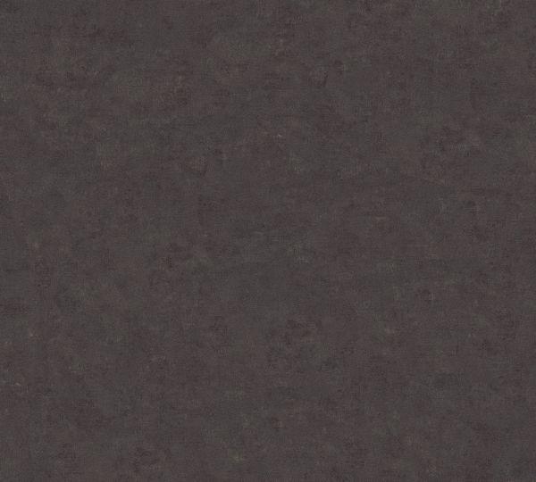 Uni Vlies Tapete schwarz braun Palila