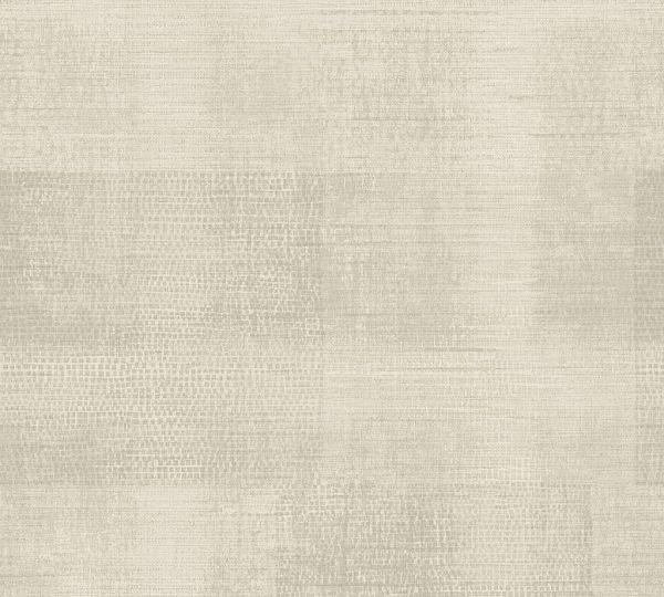 Vliestapete Patina Textil Optik beige braun
