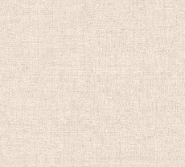Vliestapete Uni Struktur Textil Leinen Optik altrosa