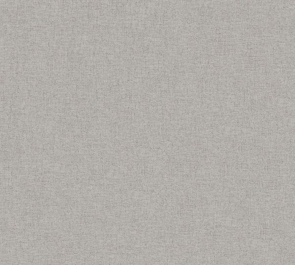 Uni Vliestapete kieselgrau metallic Muster New Elegance