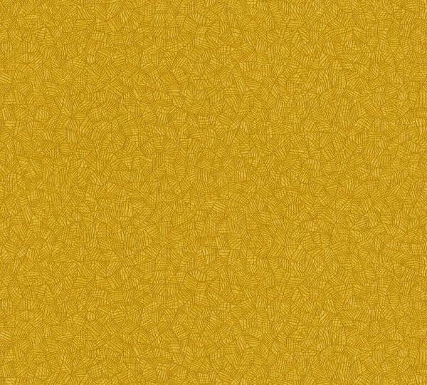 Grafisches Muster Vlies Tapete senf gelb
