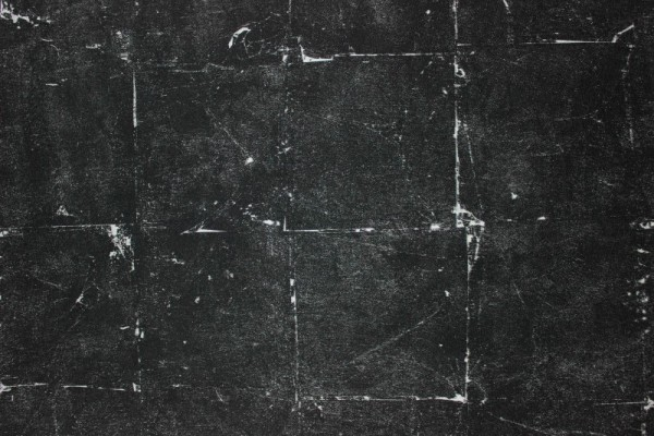Vliestapete Stein Fliesen Muster schwarz silber grau metallic Daniel Hechter