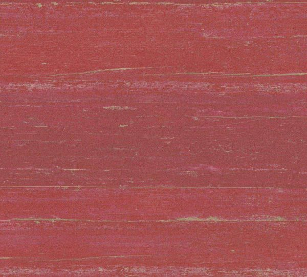 Vliestapete Querbalken Holz Optik rot