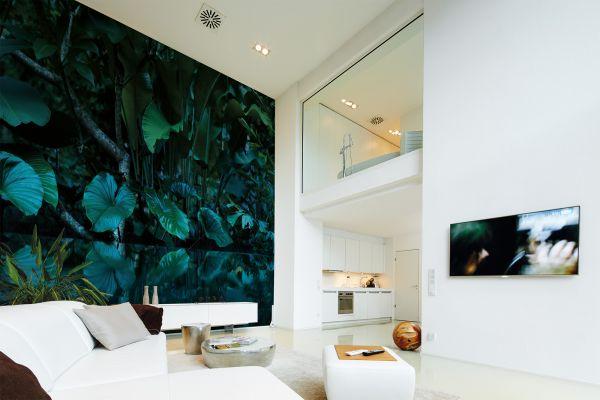 Fototapete Digitaldruck tropischer Wald 255 x 350 cm
