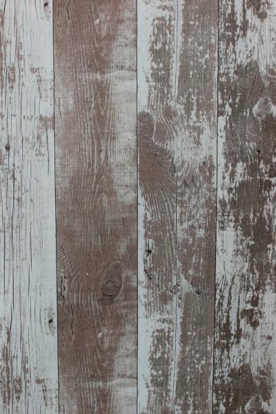 Vliestapete Antik Holz verwittert kiesel braun